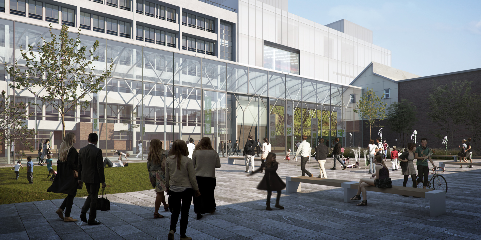 Luton and Dunstable University Hospital Redevelopm